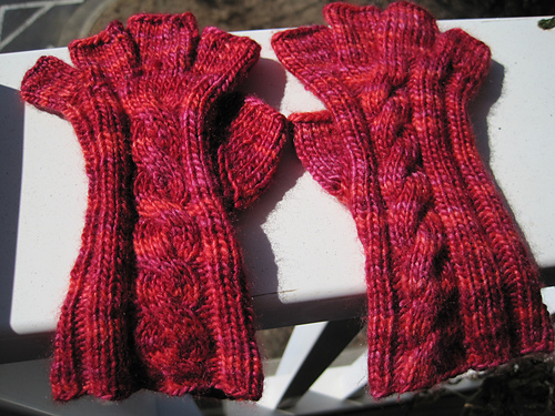 Free Knitting Patterns Tipless Gloves : How to Knit Tipless Gloves eHow.com