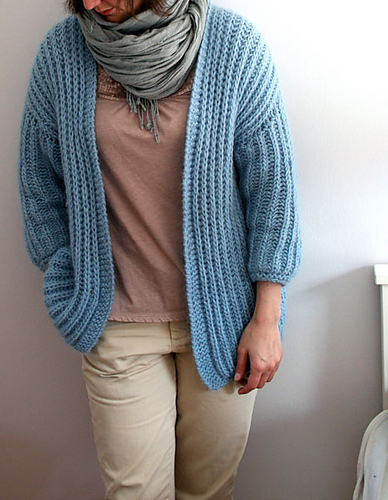 Lavender Jacket in Blue by Pickles
