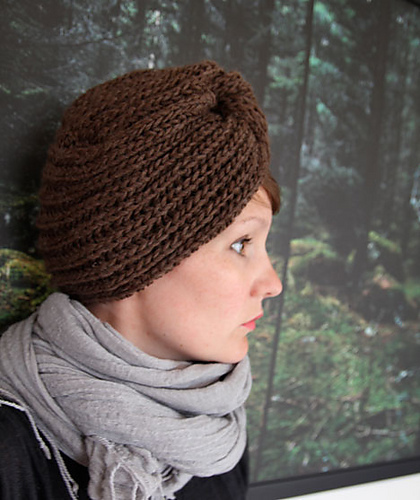 Winter turban by Anna & Heidi Pickles