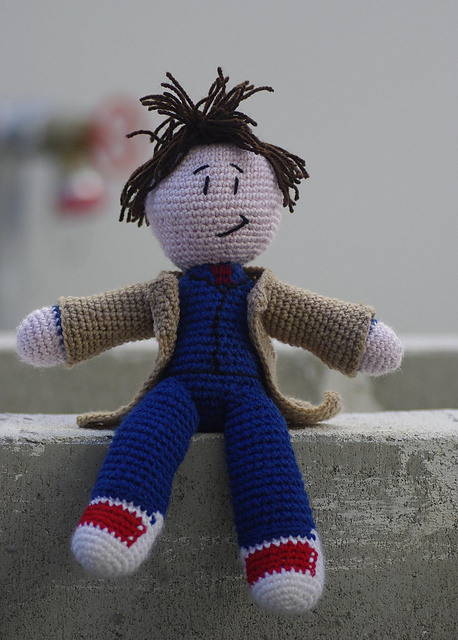 Dr Who Crochet Doll Pattern 