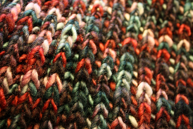 fisherman rib stitch