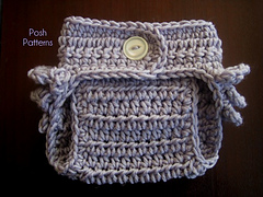 Free Crochet Baby Diaper Cover Pattern - Soakers