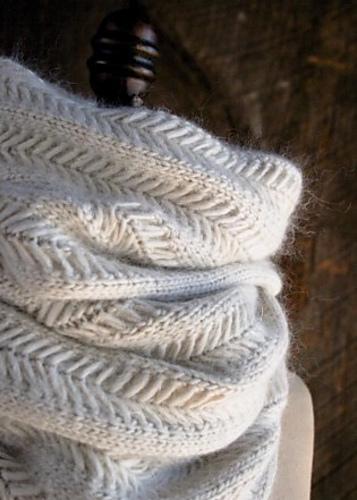 给妈妈的爱心围巾-Jasmine Scarf - Tina - Tina的手工编织的博客
