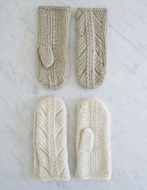 Ancient Stitch Mittens de Purl Soho