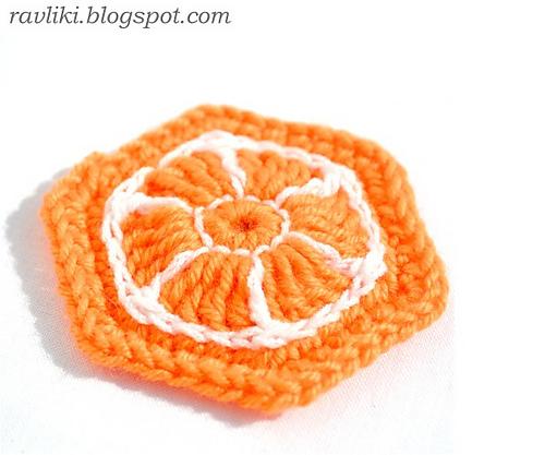 """钩针基础:""""橙子"""" - maomao - 我随心动"""