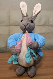 ALAN DART PETER RABBIT KNITTING PATTERN   KNITTING PATTERN