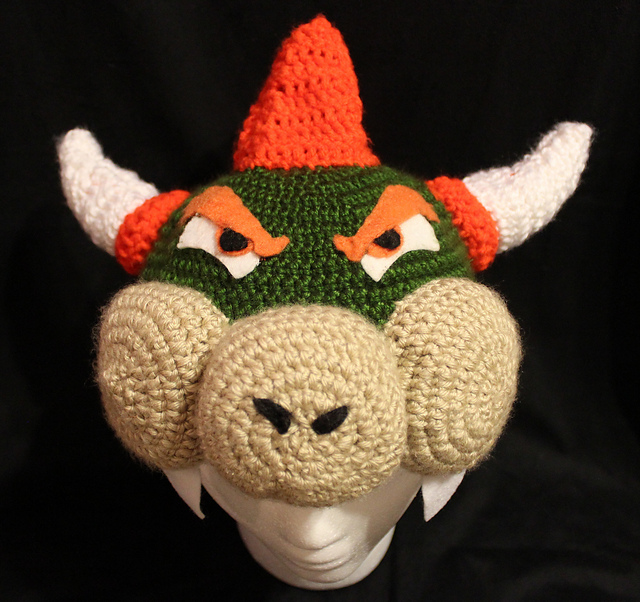 Free Crochet Pattern For Mario Hat : 1000+ images about ALL MARIO BROTHERS CROCHET on Pinterest