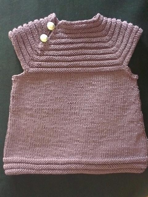 a4293cac920a3 robe bebe tricot facile tuto