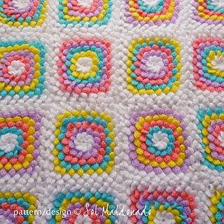 Ravelry: Crochet Blanket Floral Yummy 3D flower Granny ...