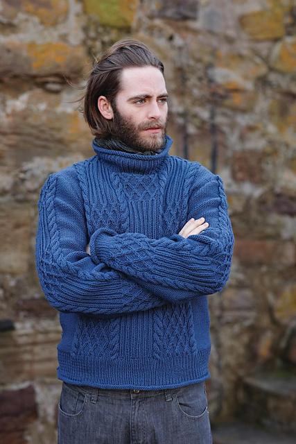 Knitting Journal Char Loving : Тёплый весенний свитер ru knitting