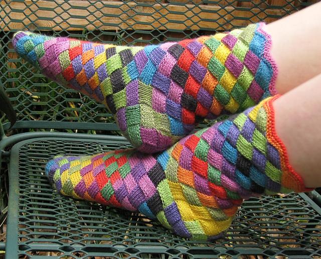 Salmiak-Socken. /// / Salmiakkisukat. - Oh, wie nordisch!