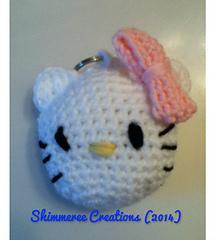 Ravelry: Amigurumi Hello Kitty Keychain pattern by Jenn ...