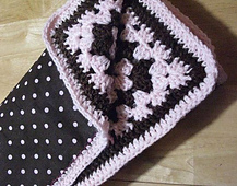 Reversible Baby Blanket - Knitting Paradise