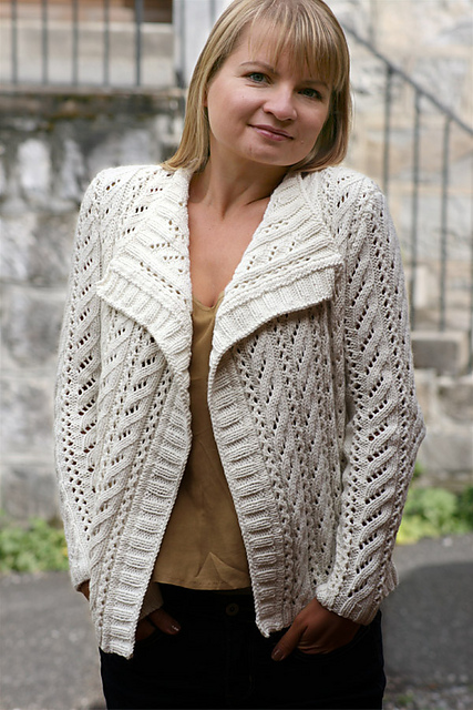 Carmel cardigan - knitting pattern from Katya Wilsher
