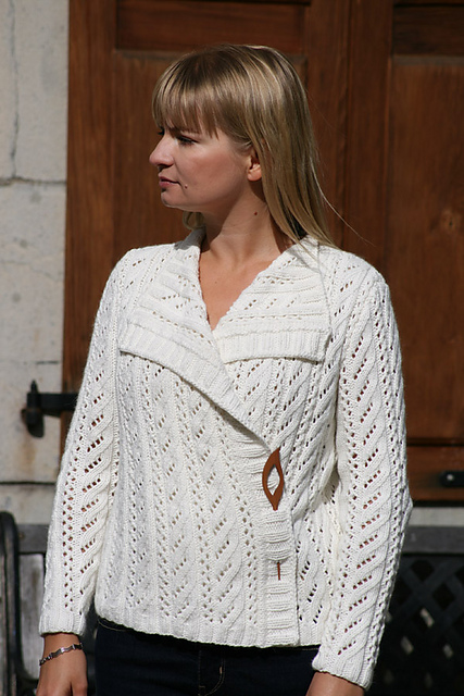 Carmel cardigan - knitting pattern by Katya Wilsher