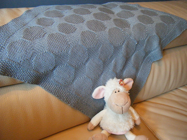 Going Dotty Baby Blanket by Susan Adkins