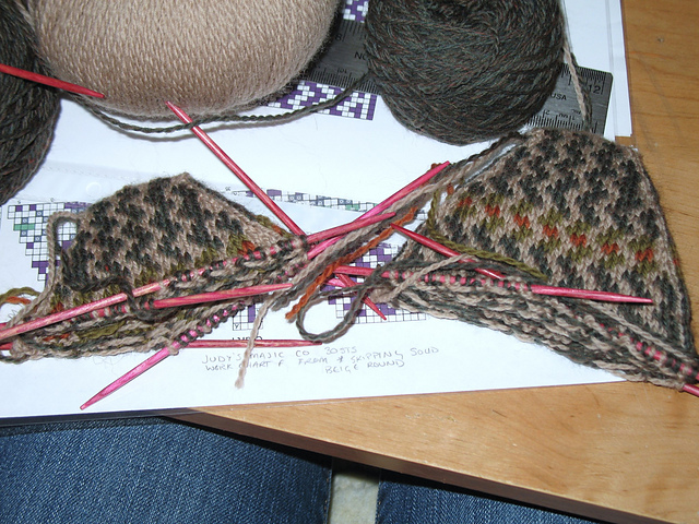 Maple Wool Farm » Blog Archive » Fair Isle Socks