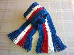 Crochet Scarf Pattern Vertical Stripes : Ravelry: Verticle Stripe Crochet Scarf pattern by Allen ...