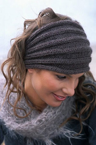 Simple Knit Headband Pattern : Easy Knit Headband