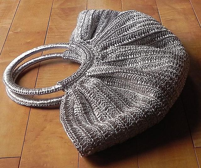 Silver Granny Bag 完成♪