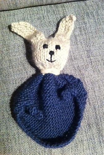 Bunny Blanket Buddy Knit Pattern 7500 Photo Blanket