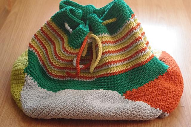 Patrones De Bolsos A Crochet Paso