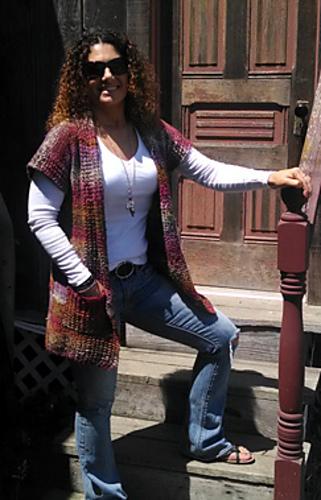 Laura's vest