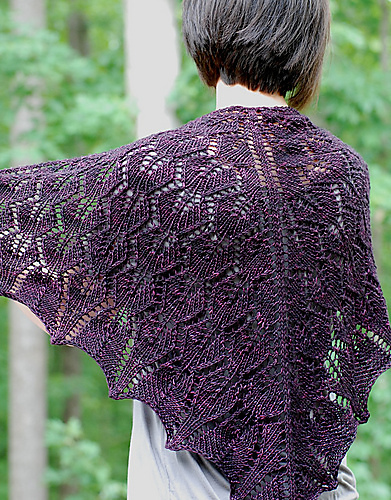 Flourish Shawl Pattern