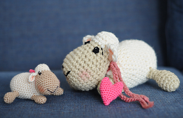 Free Crochet Amigurumi Lamb : Panda Loves Ami More Non-Bunny Free Spring / Easter ...